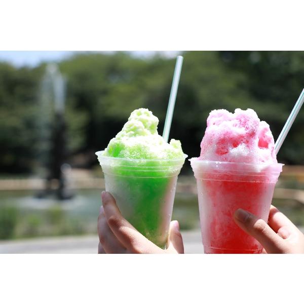 「かき氷スライム」ワークショップ