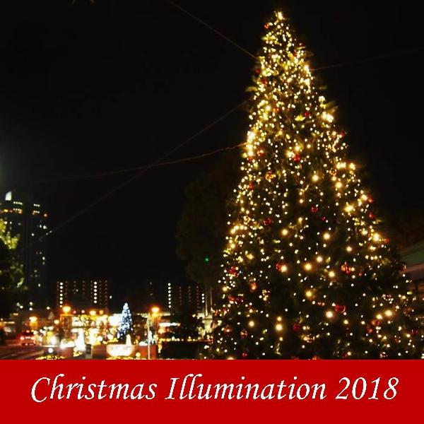 クリスマスイルミネーション 2018