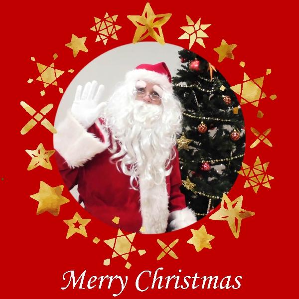 サンタクロースがやってくる!