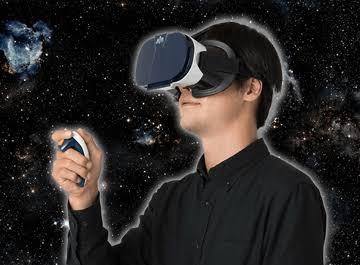 バーチャルリアリティで星空を観よう!