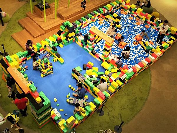 ビルディングブロックで遊ぼう!