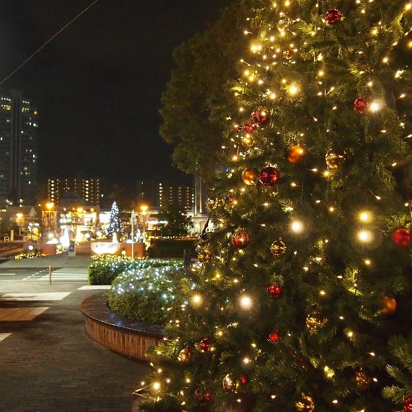 クリスマスイルミネーション点灯