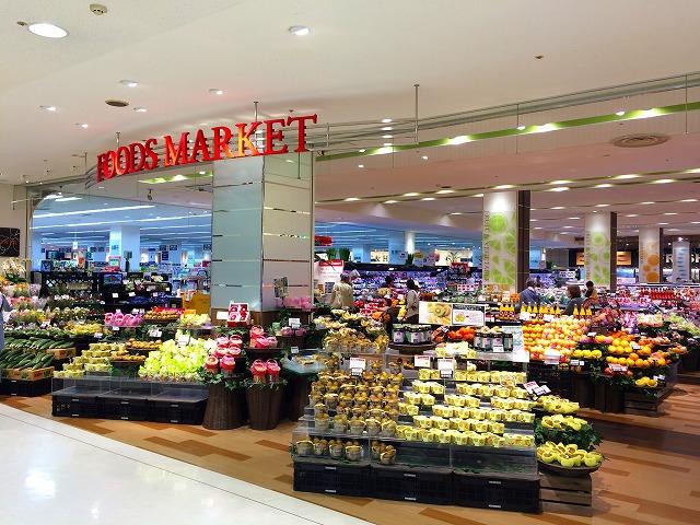 1F食料品売場