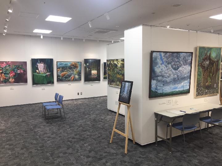 絵画展示の様子