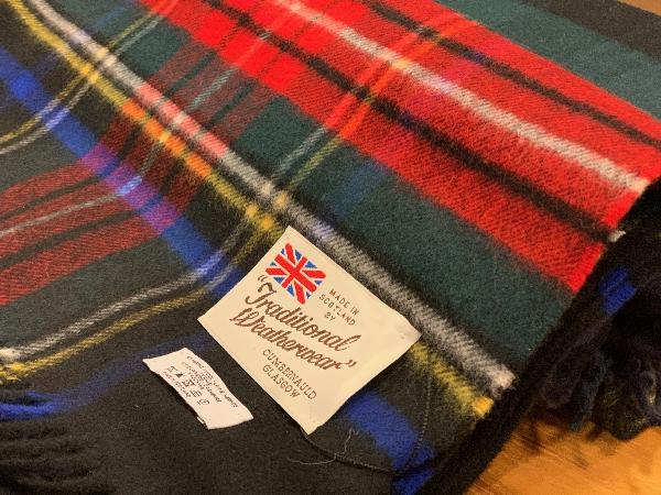 Traditional Weatherwear/ブランケットマフラー