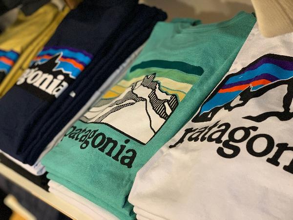patagonia(パタゴニア)/ロゴT入荷!