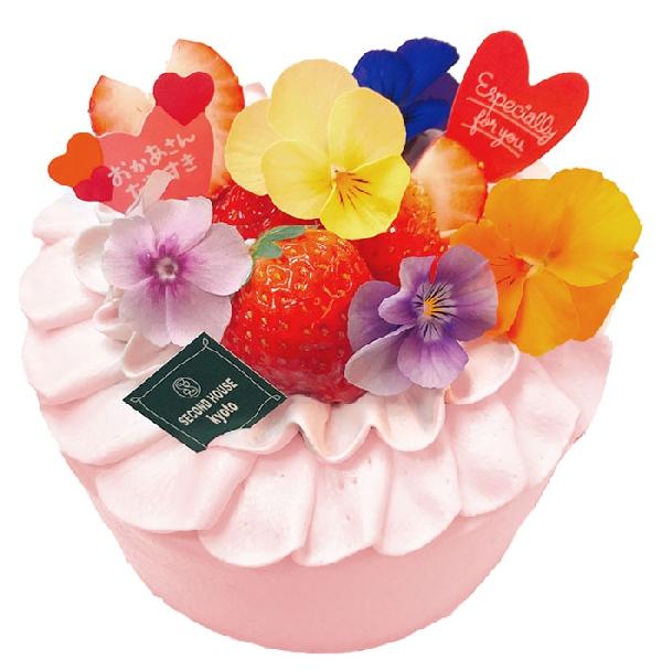 母の日のケーキご予約承り中です♪