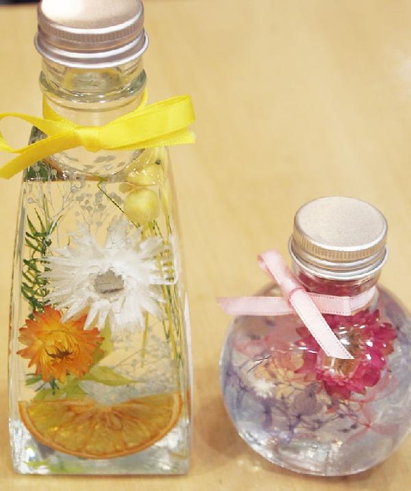 【ワークショップ】ケーキとお花のハーバリウム講習会いたします♪