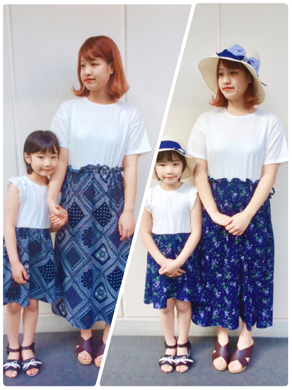 Mama&Kids ワンピース